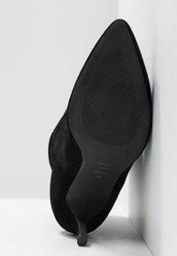 Shoe The Bear - AGNETE SLOUCHY - Korte laarzen - black - 6
