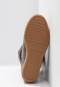 Shoe The Bear - EMMY SLOUCHY - Wedge boots - dark grey - 6