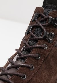 Shoe The Bear - CELESTE HIKE - Platåstövletter - brown - 2