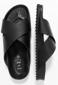Shoe The Bear - CROSS - Pantofle - black - 1