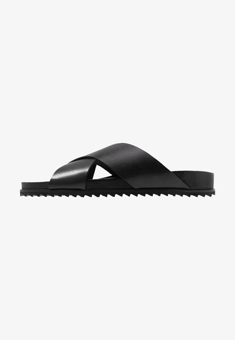 Shoe The Bear - CROSS - Pantofle - black