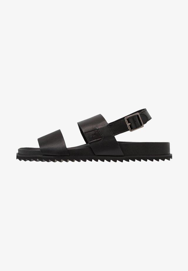 VIGO - Sandaalit nilkkaremmillä - black