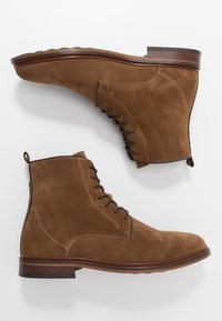 Shoe The Bear - NED - Bottines à lacets - tobacco - 1