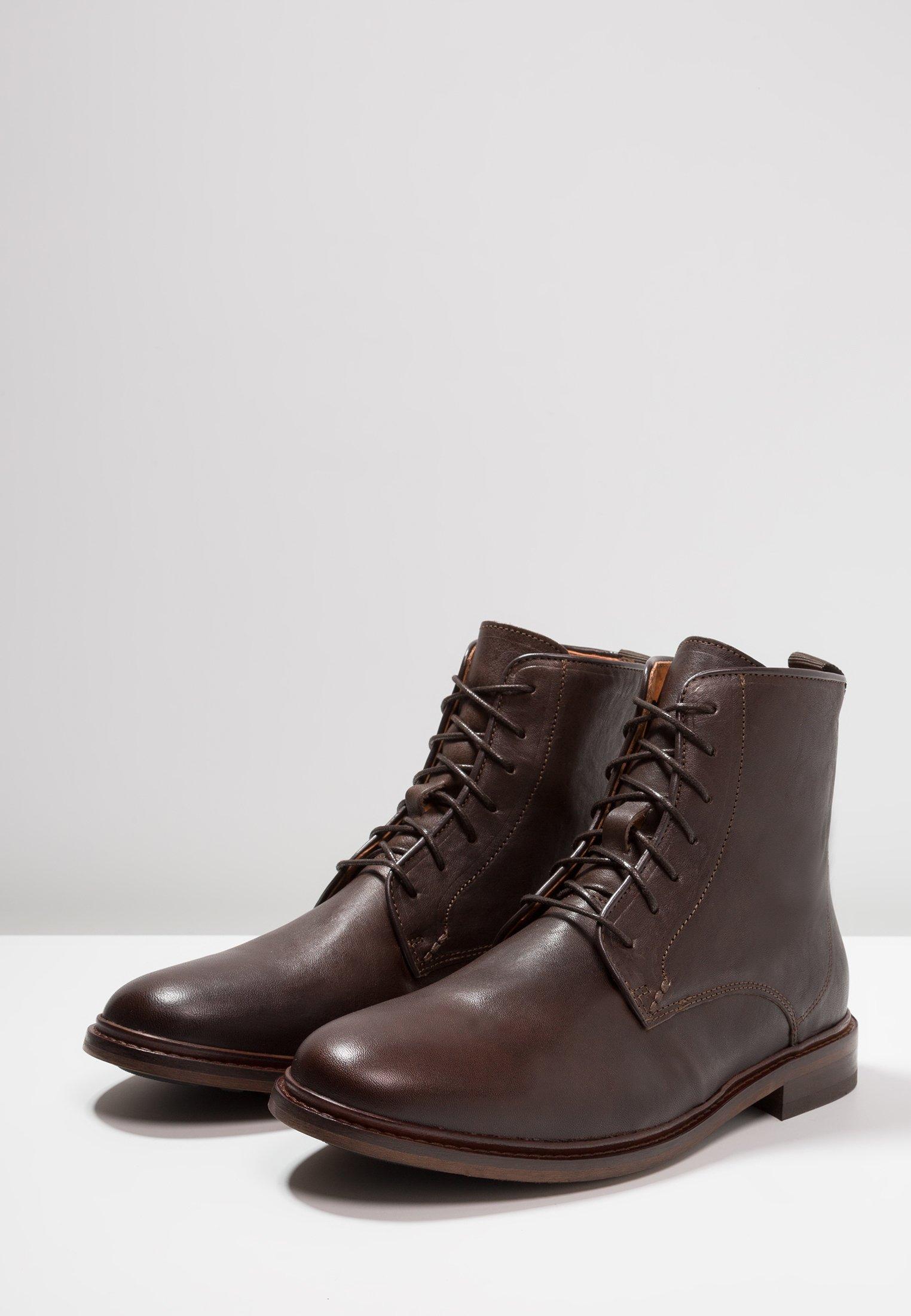 Shoe The Bear NED - Botki sznurowane - brown