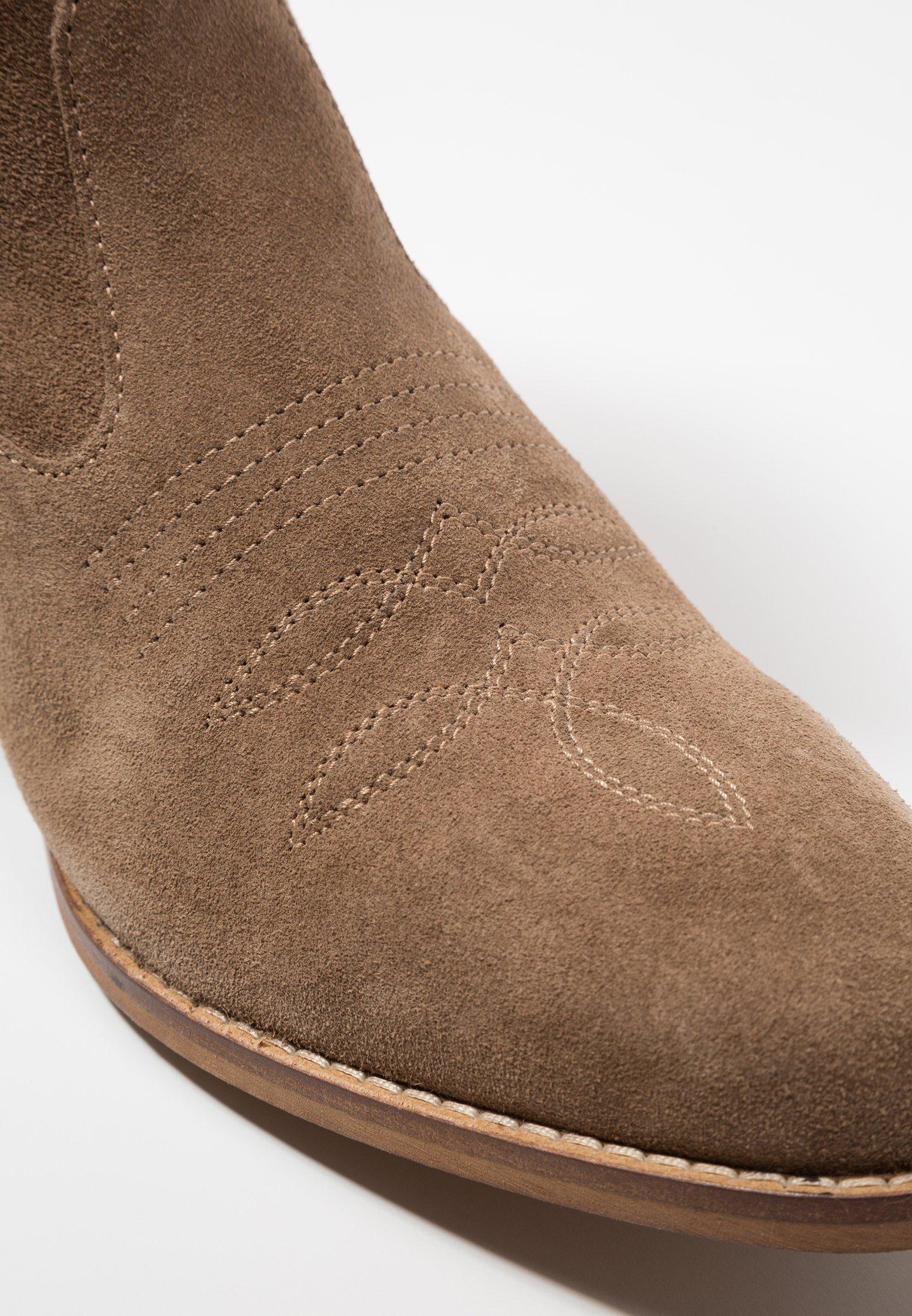 Shoe The Bear Enzo - Cowboy-/bikerlaarsjes Taupe Goedkope Schoenen