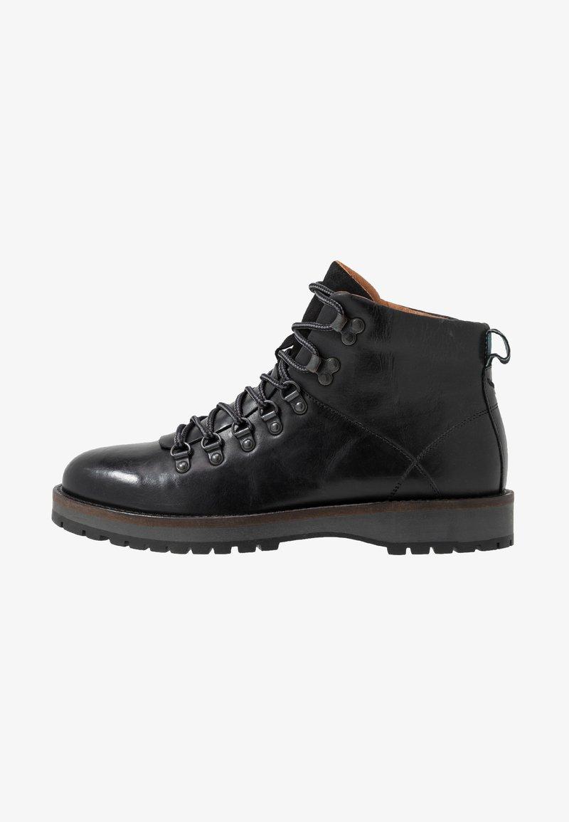 Shoe The Bear - LAWRENCE - Nauhalliset nilkkurit - black