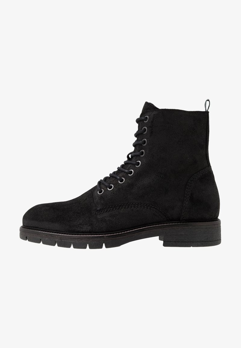 Shoe The Bear - SQUIRE - Lace-up ankle boots - black
