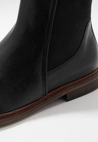 Shoe The Bear - WYATT - Kotníkové boty - black - 5