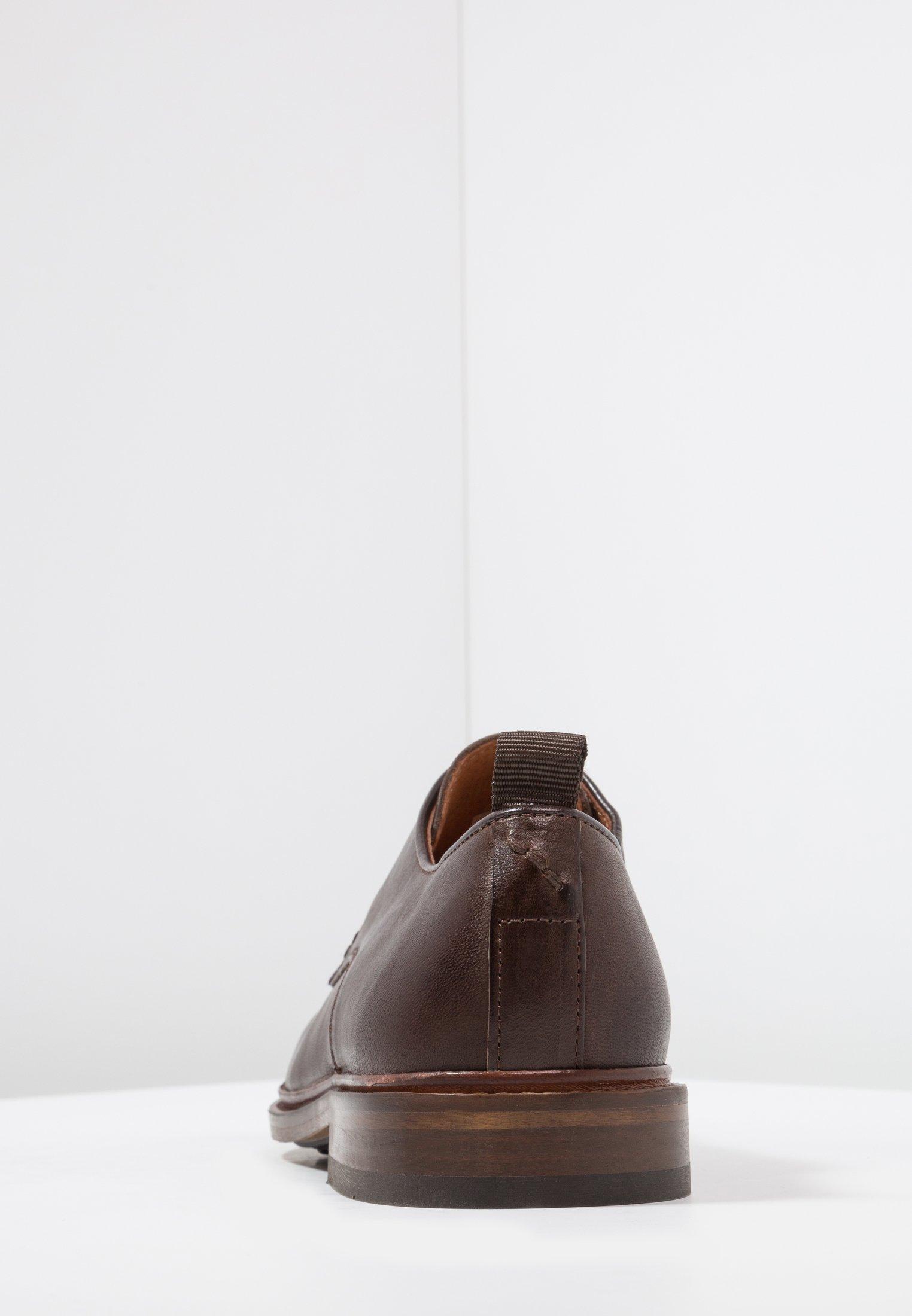 NATE Eleganta snörskor brown
