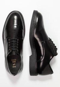 Shoe The Bear - PARRISH  - Stringate - black - 1