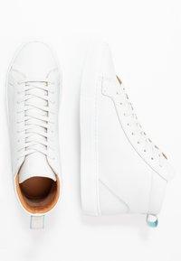 Shoe The Bear - HOLMES - Sneakers hoog - white - 1