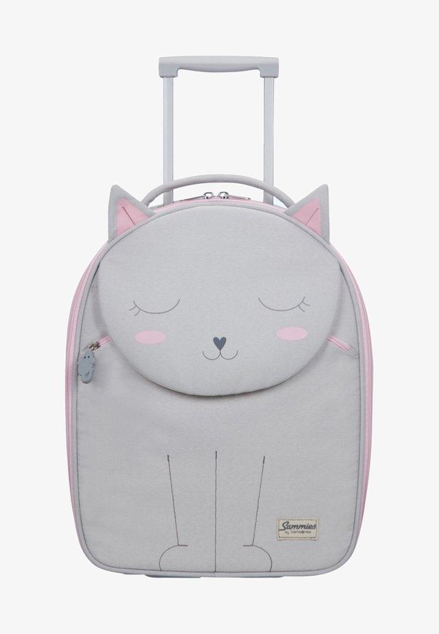 MIT 2 ROLLEN - Wheeled suitcase - light grey