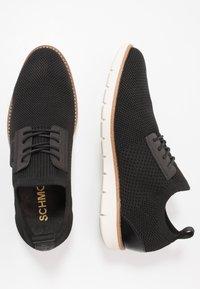 Schmoove - ECHO CLUB - Casual lace-ups - black - 1