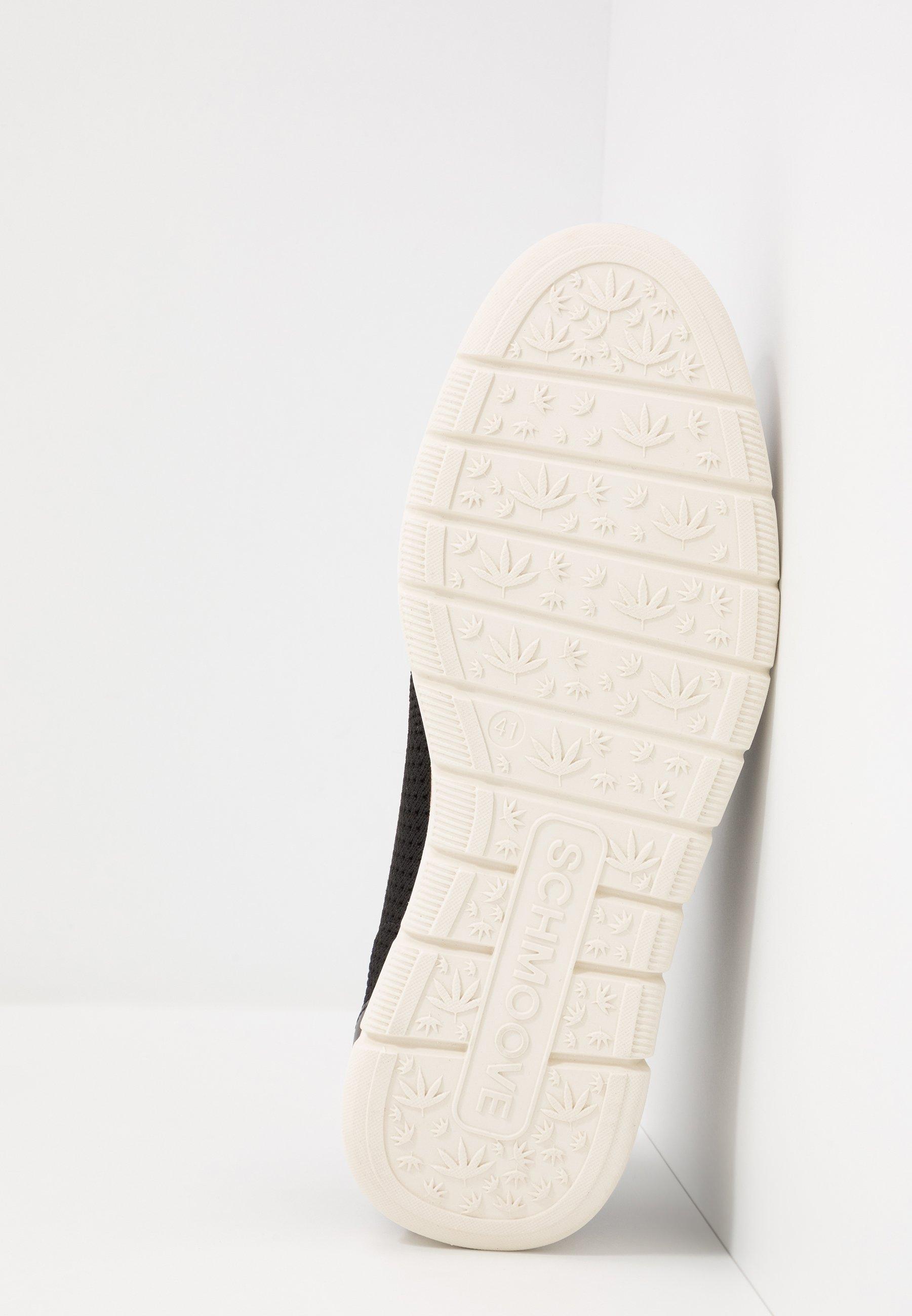 Schmoove ECHO CLUB - Sznurowane obuwie sportowe - black