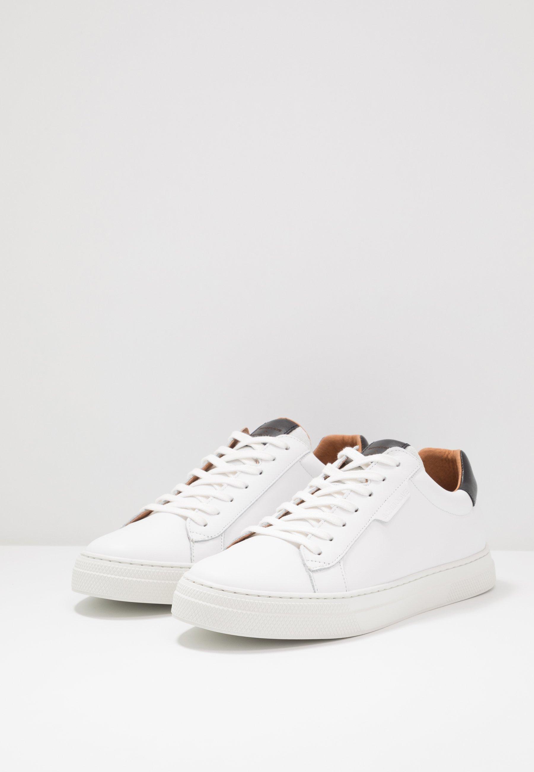 Schmoove SPARK CLAY - Sneakersy niskie - white/black
