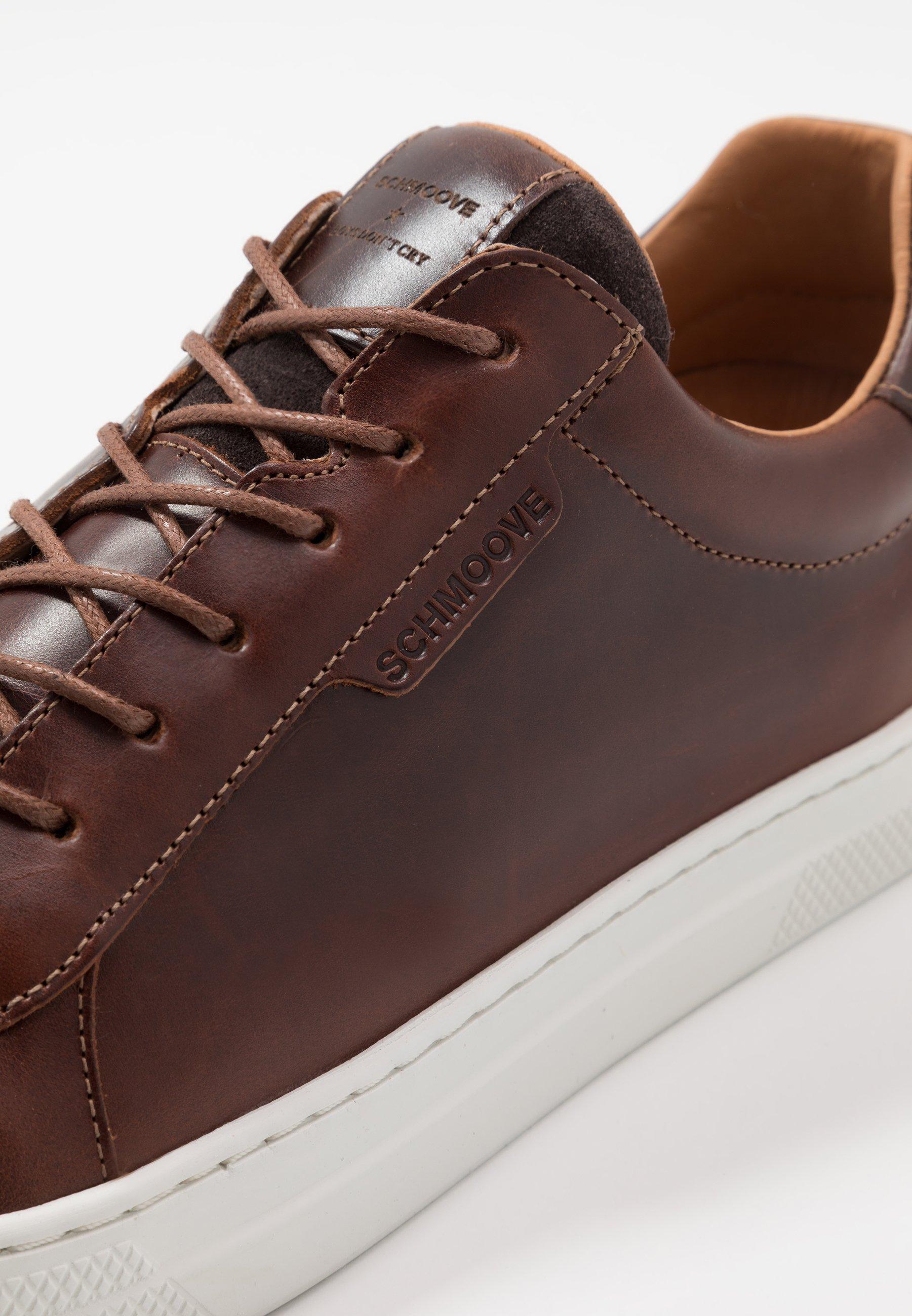 Schmoove SPARK CLAY - Sneakersy niskie - dark brown