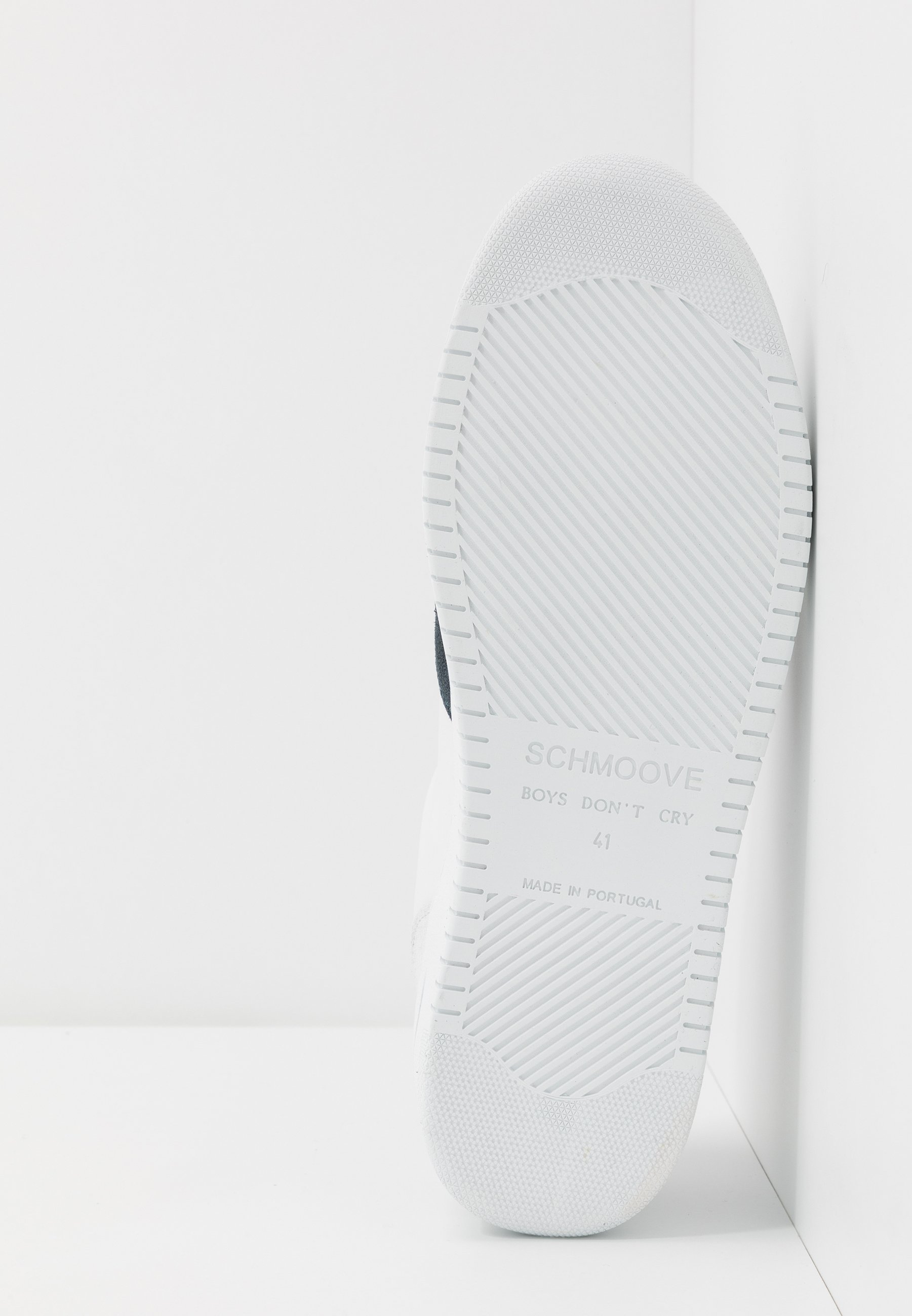 Schmoove EVOC - Sneakersy niskie - white/night blue