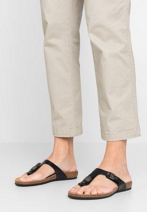 BIMINI  - T-bar sandals - schwarz