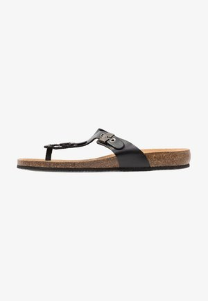 BIMINI  - T-bar sandals - schwarz