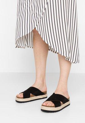 MALINDY CROSS - Sandaler - schwarz