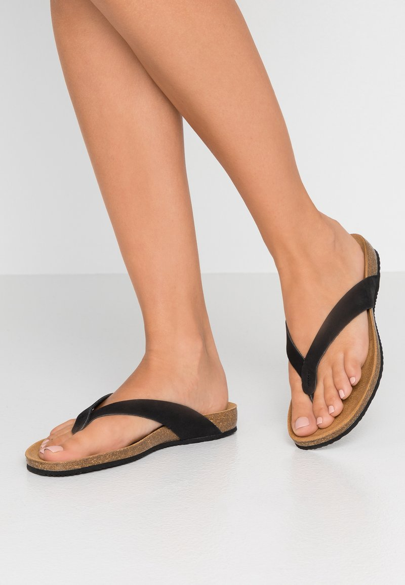 Scholl - TIST 2.0 - Sandaler m/ tåsplit - schwarz