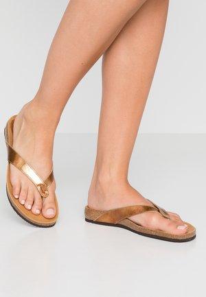 TIST 2.0 - T-bar sandals - gold
