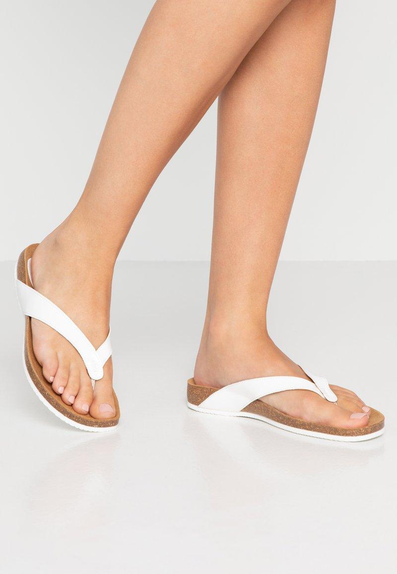 Scholl - TIST - T-bar sandals - white