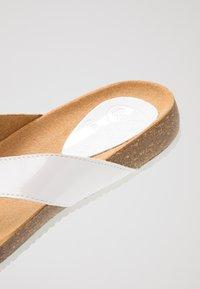 Scholl - TIST - T-bar sandals - white - 2