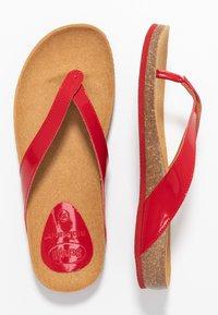 Scholl - TIST - Sandalias de dedo - red - 3