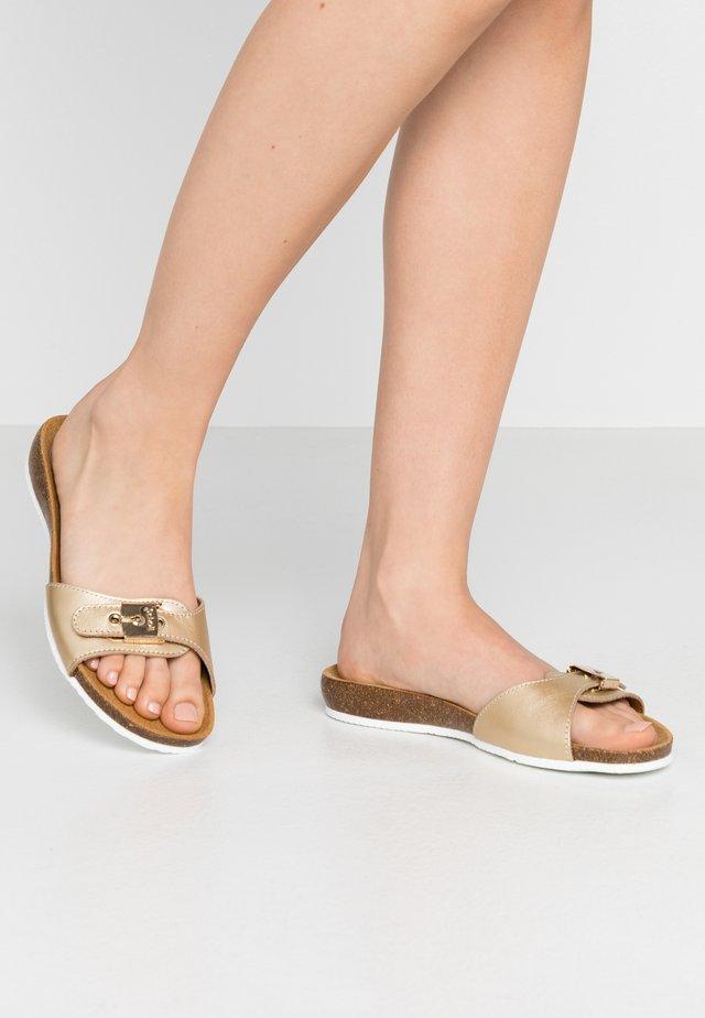 BAHAMAIS - Slippers - or