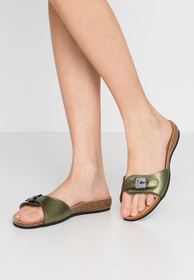 BAHAMAIS - Slippers - kaki