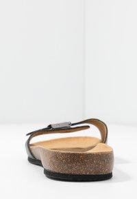 Scholl - BAHAMAIS - Slippers - noir - 5