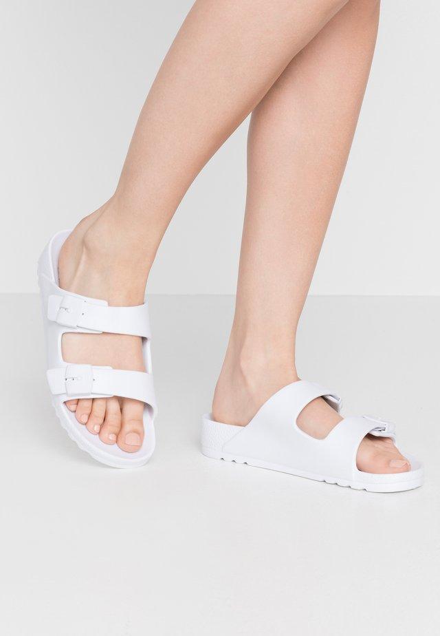 SHO BAHIA - Pantofole - blanc