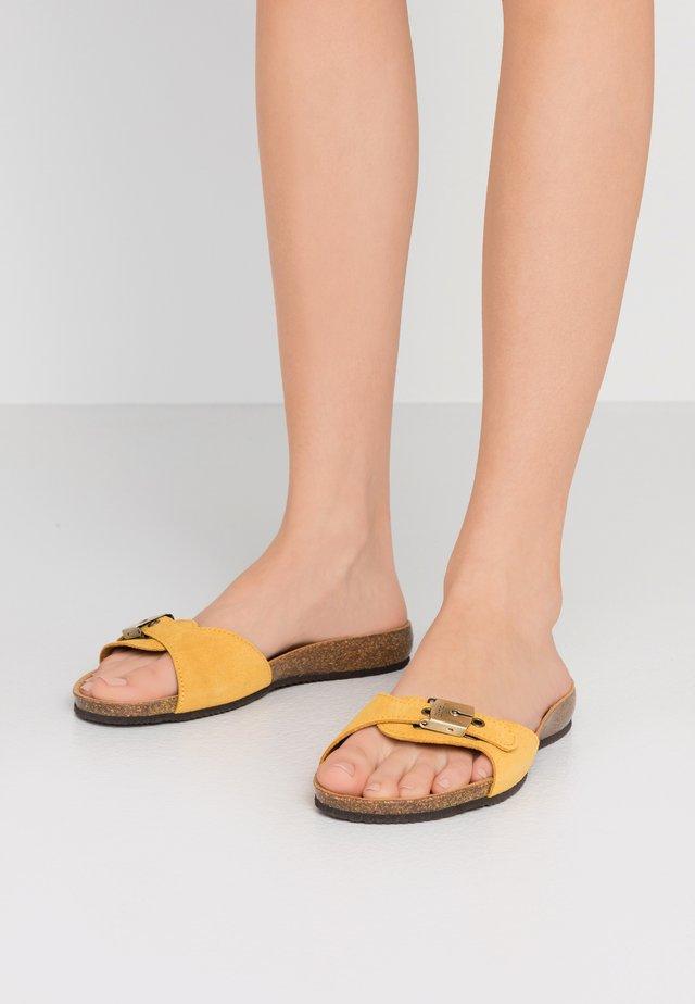BAHAMAIS - Tofflor & inneskor - jaune/ocre