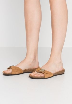 BAHAMAIS - Pantoffels - marron clair