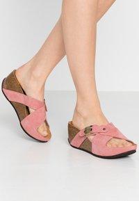 Scholl - ELANAIS - Pantofle na podpatku - fandango - 0
