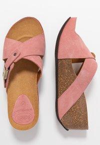 Scholl - ELANAIS - Pantofle na podpatku - fandango - 3