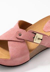 Scholl - ELANAIS - Pantofle na podpatku - fandango - 2