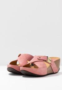 Scholl - ELANAIS - Pantofle na podpatku - fandango - 4