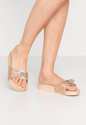 TARA - Pantofle - rose metallic