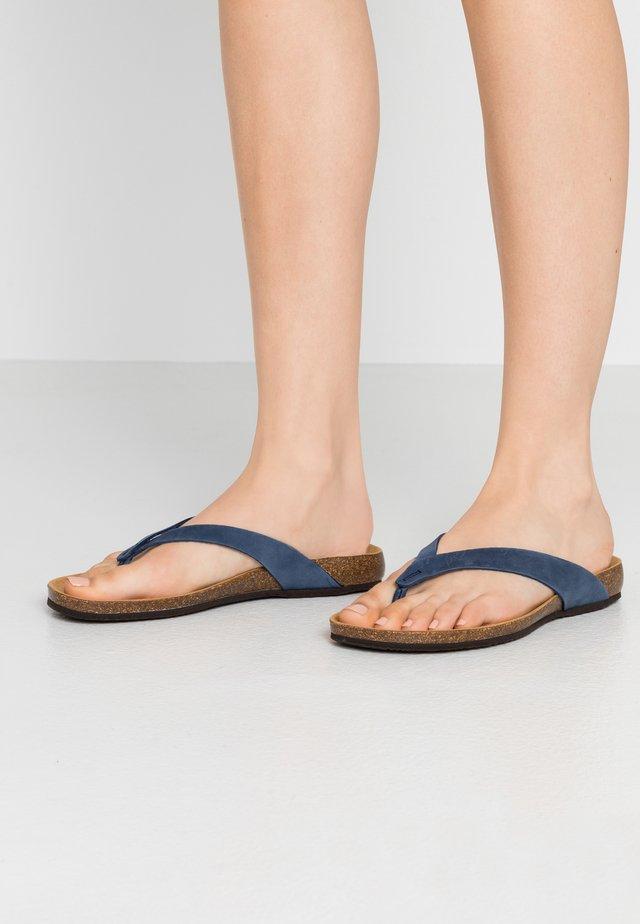 TISTOIS - T-bar sandals - navy