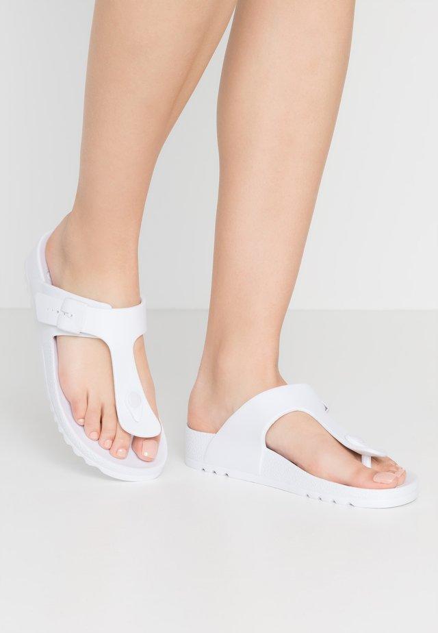 BAHIA - Pool shoes - blanc