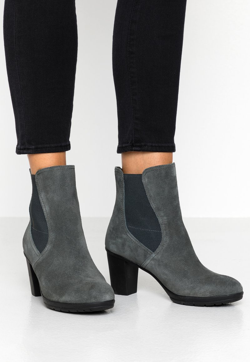 Scholl - ADHARE - Classic ankle boots - dark grey