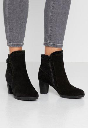 RIBAME - Korte laarzen - black
