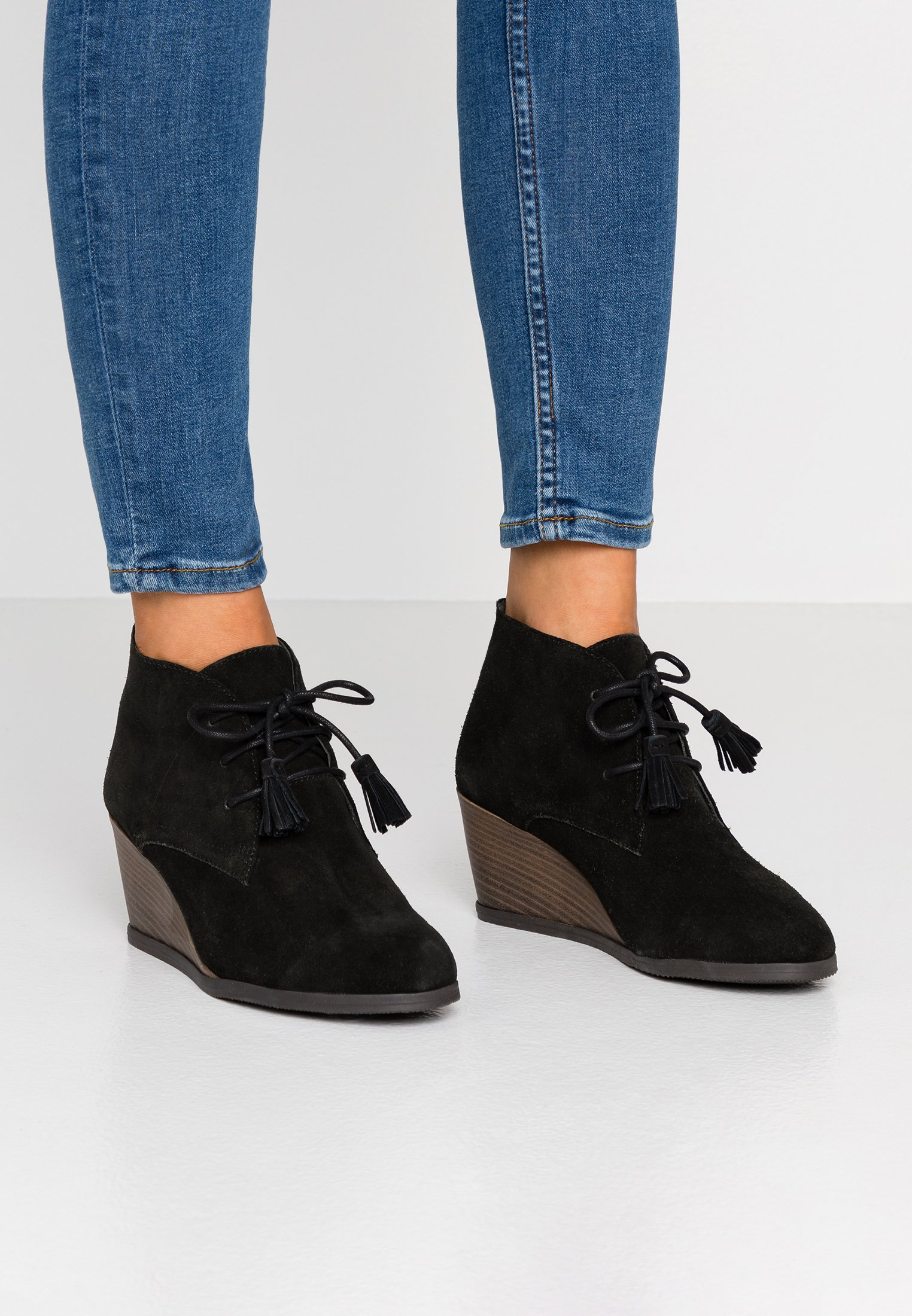 GRIEL Korte laarzen black