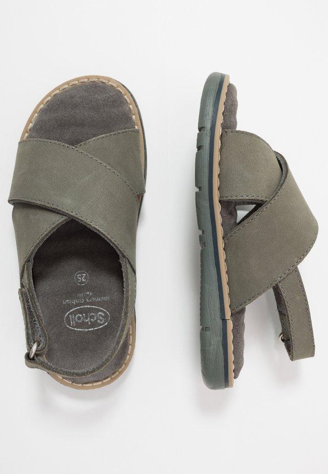 TRIOLINE - Sandals - khaki