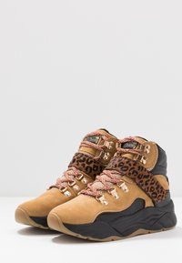 Scotch & Soda - CELEST - Baskets montantes - camel/black - 4