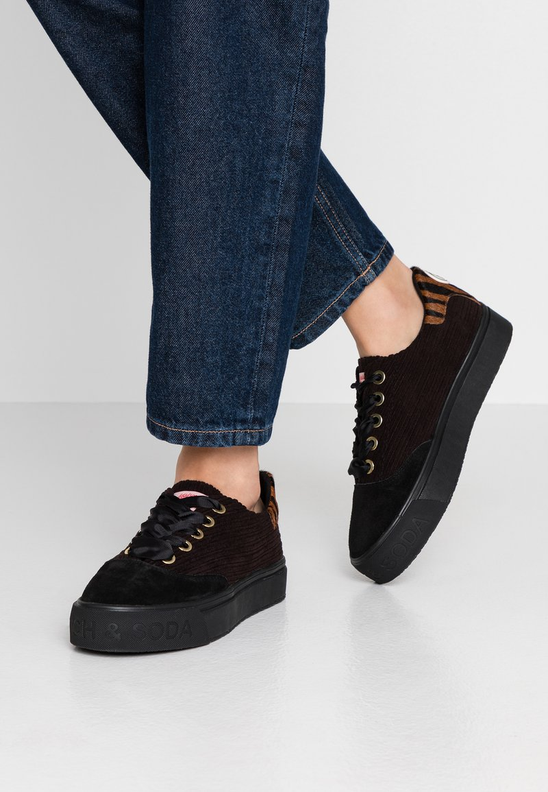 Scotch & Soda - SYLVIE SHOES - Sneaker low - black
