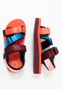 Scotch & Soda - LYDIA SPORT - Platform sandals - coral/multicolor - 3