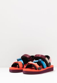 Scotch & Soda - LYDIA SPORT - Platform sandals - coral/multicolor - 4